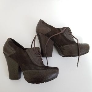 Kork ease size 8.5 leather booties